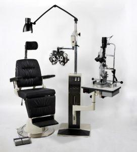 Optometric Test Chair